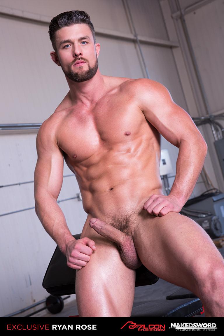 Gay Porno Image superstar ryan rose returns to gay porn as falcon exclusive